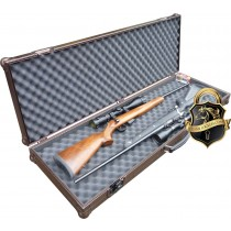 Twin Rifle case open