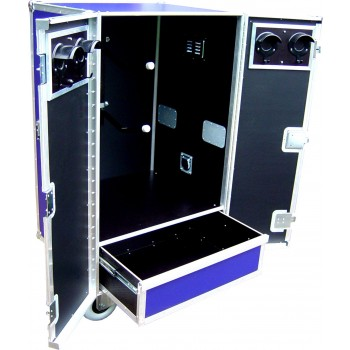 Twin Saddle Tack Locker